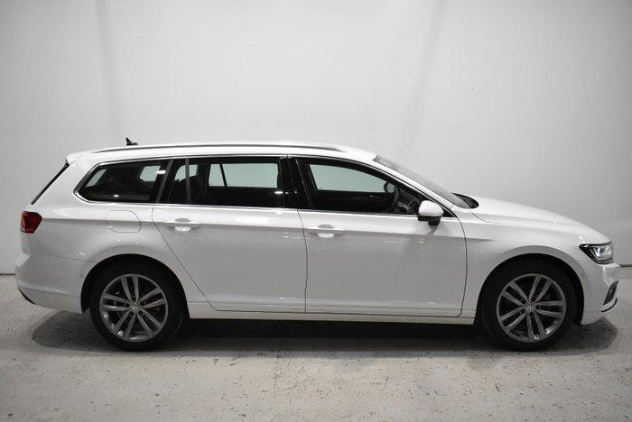 2019 Volkswagen Passat 140TSI Business B8 MY20 Pure White