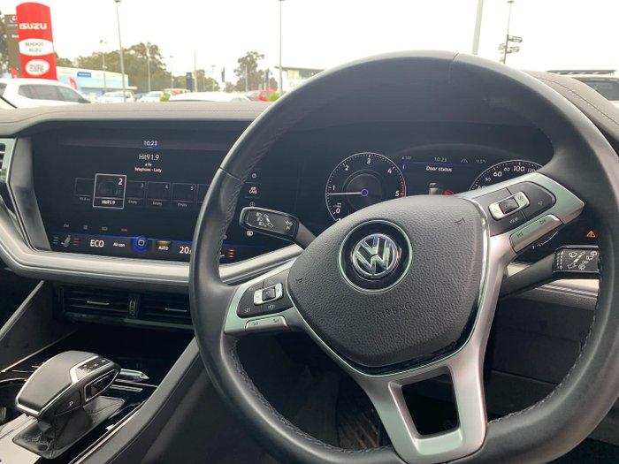 2019 Volkswagen Touareg 190TDI Launch Edition CR MY19 Four Wheel Drive Pure White