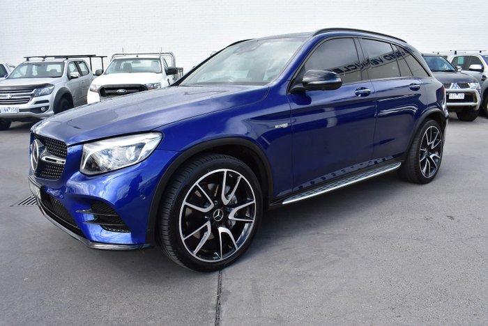 2018 Mercedes-Benz GLC-Class GLC43 AMG X253 Four Wheel Drive Brilliant Blue