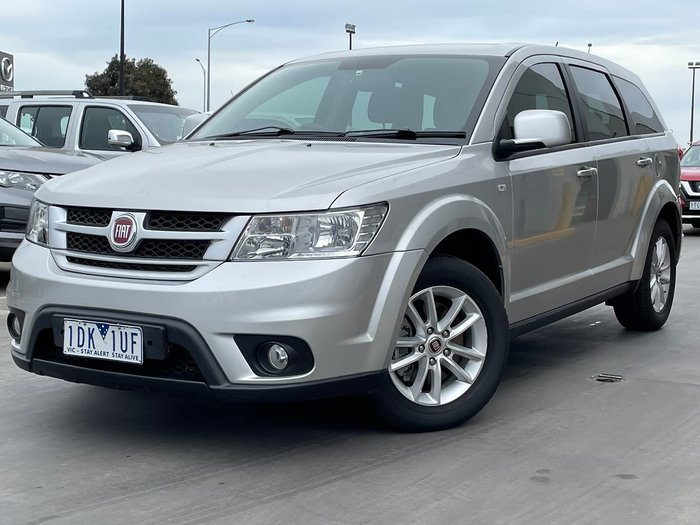 2013 Fiat Freemont Base JF Silver