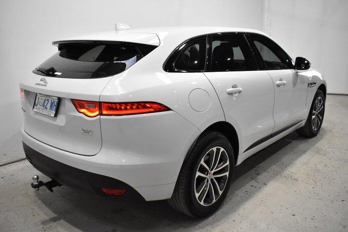2018 Jaguar F-PACE 20d R-Sport X761 MY18 AWD White
