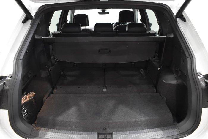 2020 Volkswagen Tiguan 140TDI Highline Allspace 5N MY20 Four Wheel Drive Pure White