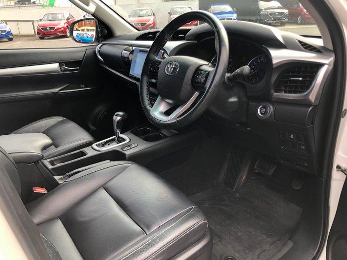 2018 Toyota Hilux SR GUN126R 4X4 Dual Range Glacier White