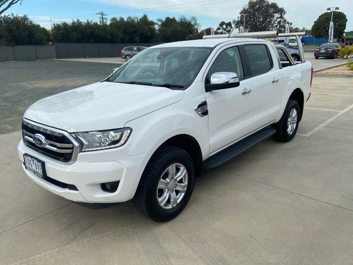 2019 Ford Ranger XLT PX MkIII MY19.75 4X4 Dual Range Arctic White