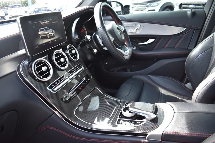 2018 Mercedes-Benz GLC-Class GLC43 AMG X253 Four Wheel Drive Blue