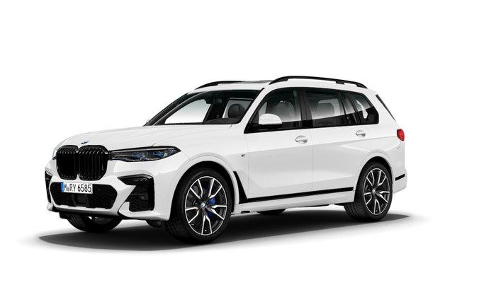 2021 BMW X7 xDrive30d G07 4X4 Constant White
