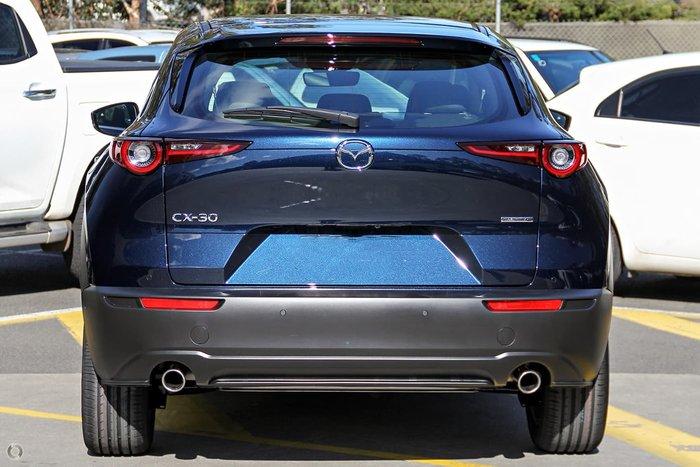 2021 Mazda CX-30 G20 Touring DM Series Deep Crystal Blue