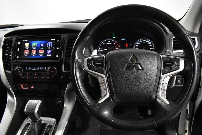 2016 Mitsubishi Pajero Sport GLS QE MY16 4X4 Dual Range White