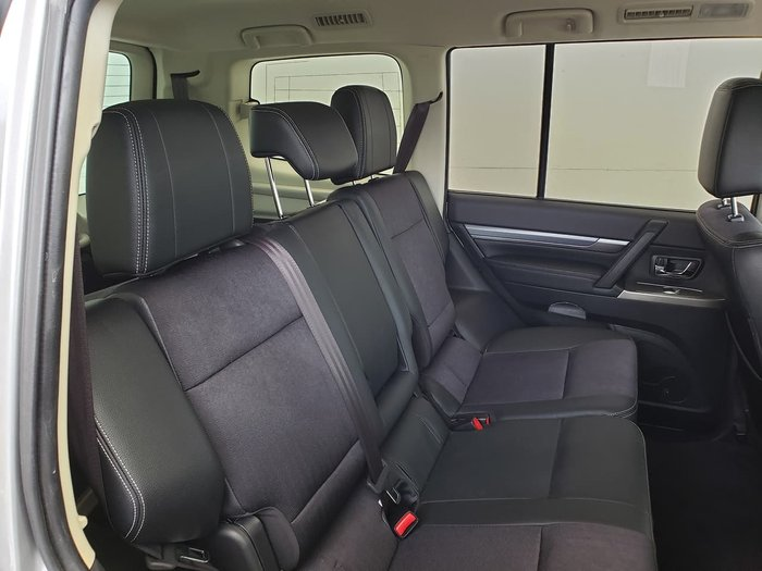 2019 Mitsubishi Pajero GLS NX MY20 4X4 Dual Range Silver