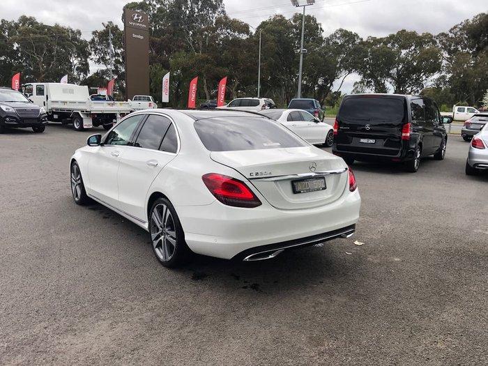 2018 Mercedes-Benz C-Class C220 d W205 White