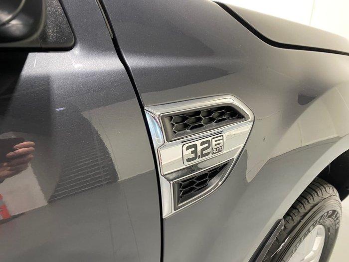 2021 Ford Ranger XLT PX MkIII MY21.75 4X4 Dual Range Grey