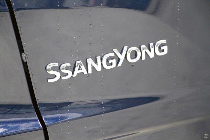 2020 SsangYong Rexton Ultimate Y450 MY21 4X4 Dual Range Atlantic Blue