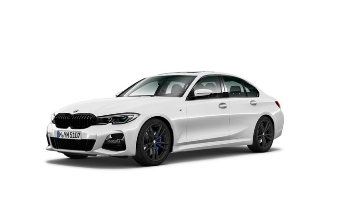 2021 BMW 3 Series 330i M Sport G20 White