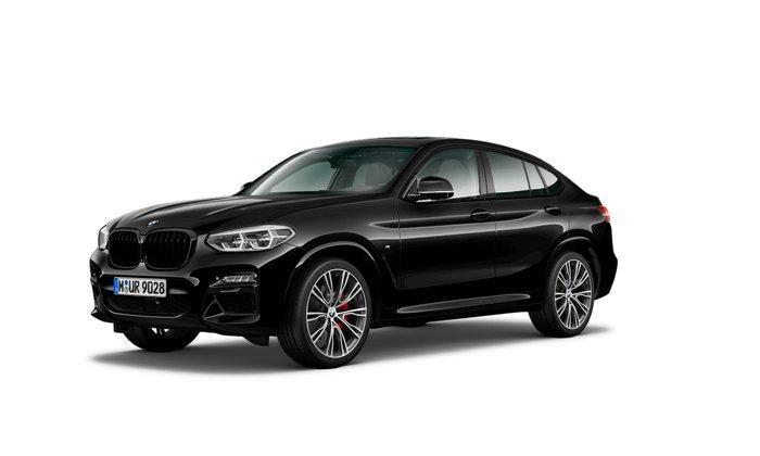 2021 BMW X4 M40i G02 4X4 Constant Black