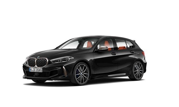 2021 BMW 1 Series M135i xDrive F40 4X4 On Demand Black