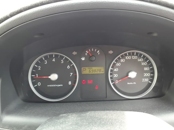 2010 Hyundai Getz S TB MY09 Noble White