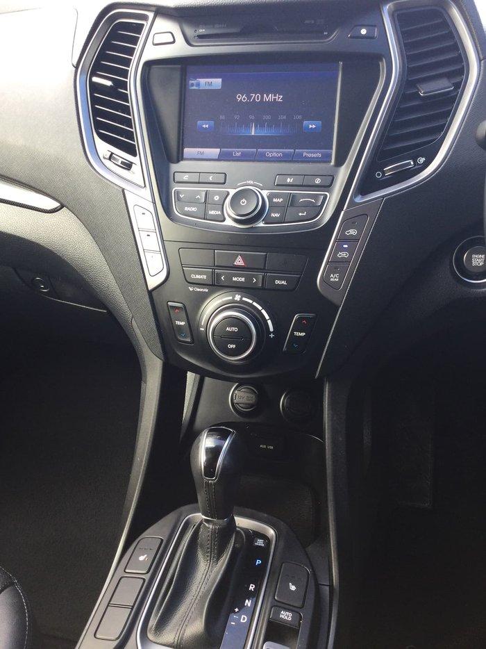 2014 Hyundai Santa Fe Highlander DM MY14 4X4 On Demand Silver
