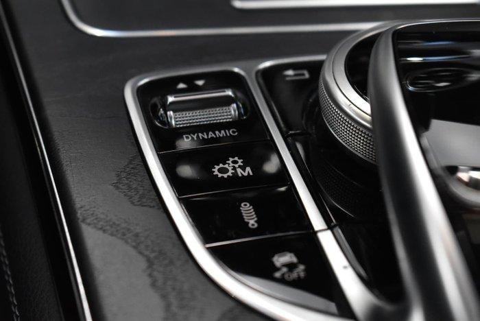 2018 Mercedes-Benz GLC-Class GLC63 AMG S X253 Four Wheel Drive Iridium Silver