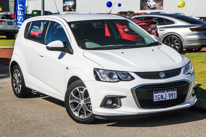 2018 Holden Barina LS TM MY18 White