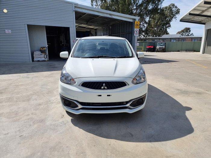 2018 Mitsubishi Mirage ES LA MY18 White