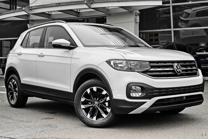 2021 Volkswagen T-Cross 85TSI Life C1 MY21 Pure White