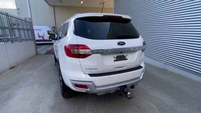 2019 Ford Everest Trend UA II MY19 Arctic White