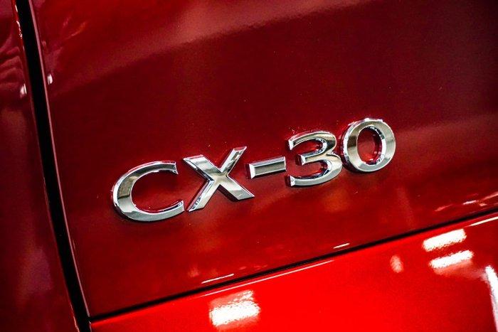 2021 Mazda CX-30 G25 Astina DM Series Soul Red Crystal