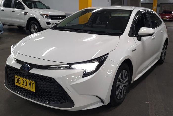 2020 Toyota Corolla Ascent Sport Hybrid ZWE211R Glacier White