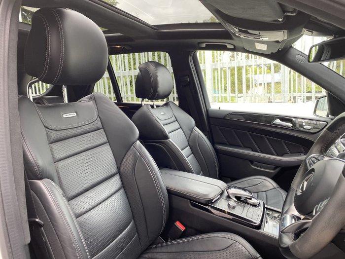 2016 Mercedes-Benz GLE-Class GLE63 AMG S W166 Four Wheel Drive Polar White