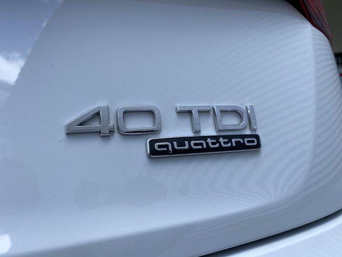 2019 Audi Q5 40 TDI sport FY MY19 4X4 On Demand Glacier White