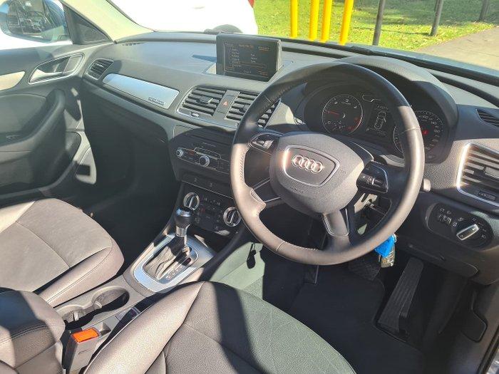 2013 Audi Q3 TDI 8U MY13 Four Wheel Drive Sphere Blue