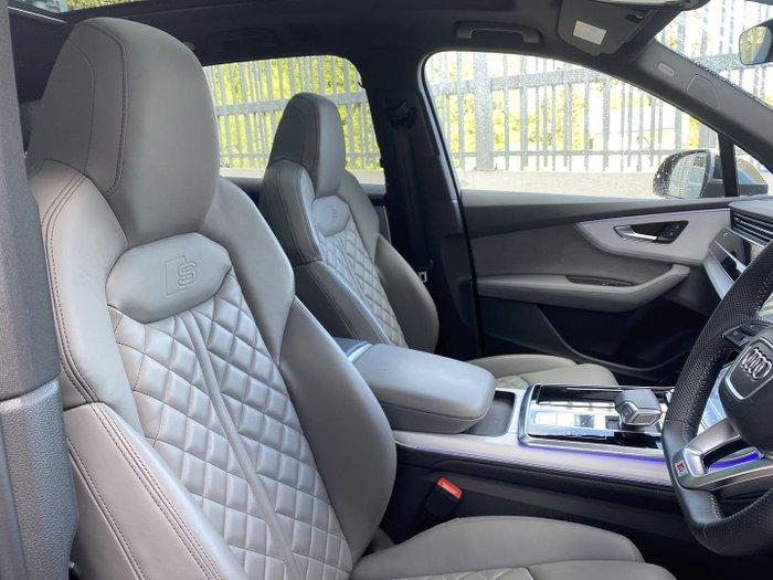 2020 Audi SQ7 TDI 4M MY20 Four Wheel Drive Navarra Blue