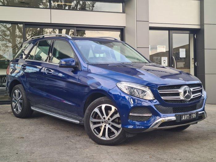 2017 Mercedes-Benz GLE-Class GLE250 d W166 Four Wheel Drive Blue
