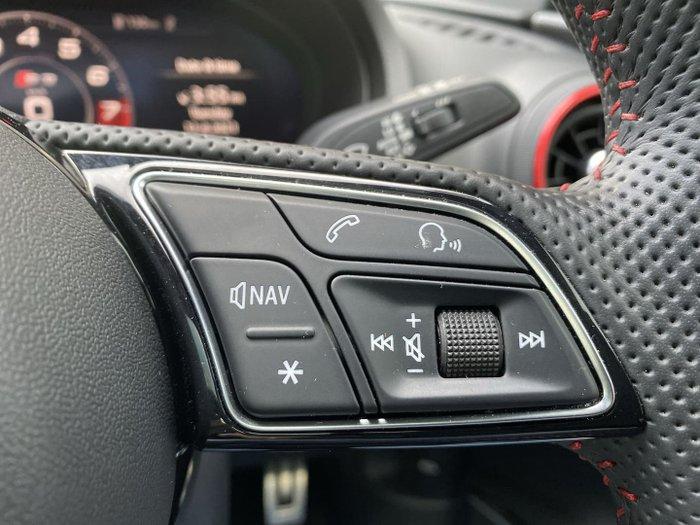 2020 Audi S3 8V MY20 Four Wheel Drive Navarra Blue