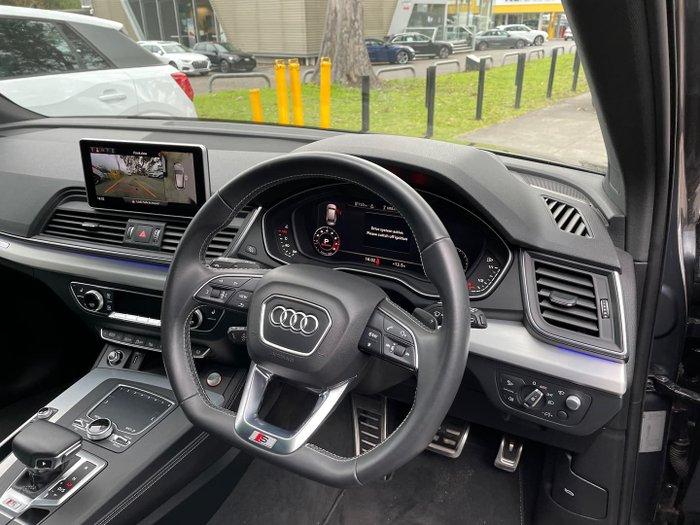 2019 Audi SQ5 FY MY20 Four Wheel Drive Grey