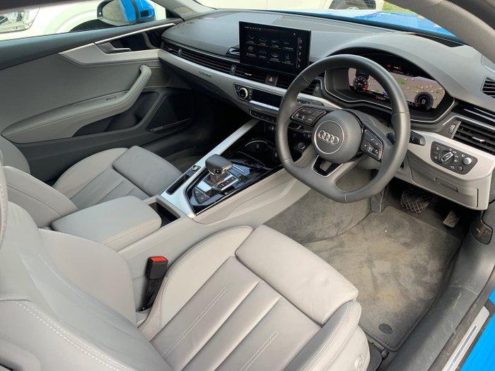 2020 Audi A5 45 TFSI S line F5 MY20 Four Wheel Drive Turbo Blue
