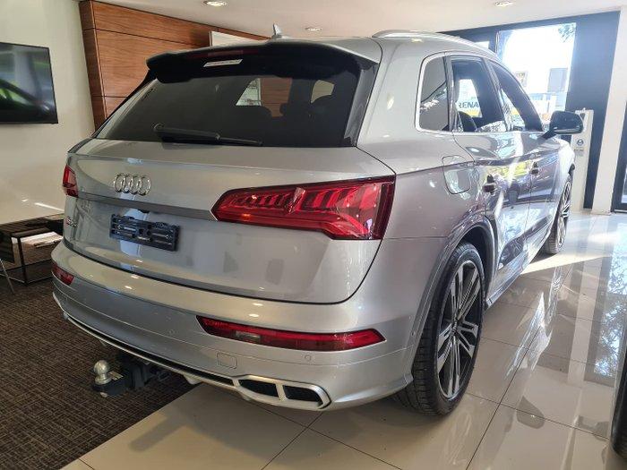 2019 Audi SQ5 FY MY20 Four Wheel Drive Florett Silver