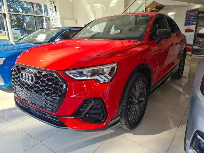 2020 Audi Q3 35 TFSI Launch Edition F3 MY20 Tango Red