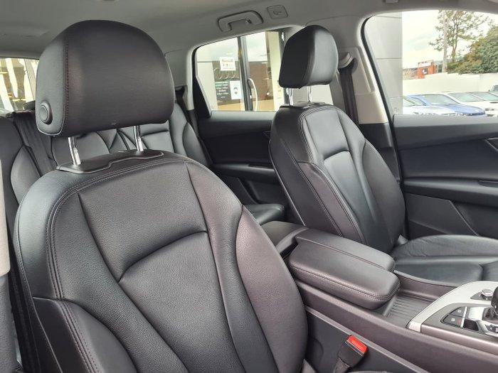 2018 Audi Q7 TDI 4M MY18 Four Wheel Drive Florett Silver