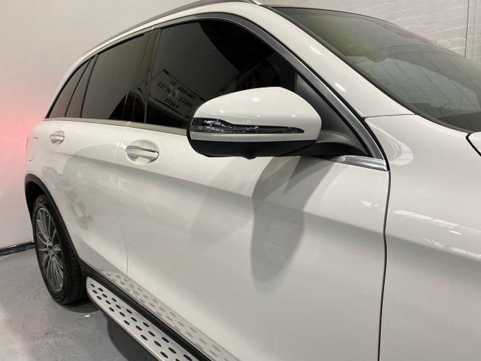 2017 Mercedes-Benz GLC-Class GLC250 X253 Four Wheel Drive Polar White