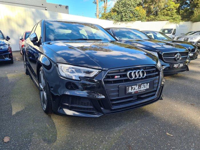 2019 Audi S3 8V MY19 Four Wheel Drive Mythos Black
