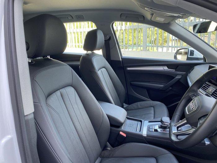 2020 Audi Q5 40 TDI design FY MY20 4X4 On Demand Glacier White