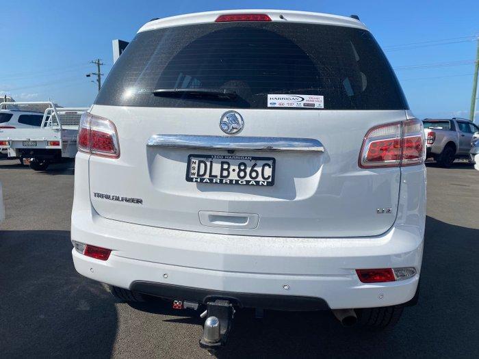 2017 Holden Trailblazer LTZ RG MY17 4X4 Dual Range Summit White