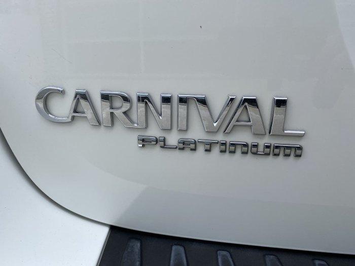 2018 Kia Carnival Platinum YP MY18 White