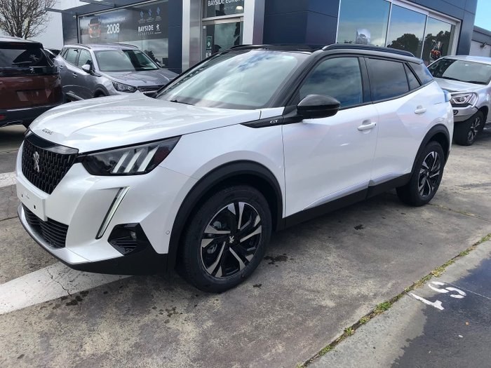 2020 Peugeot 2008 GT P24 MY21 Pearl White