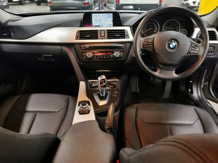 2014 BMW 3 Series 316i F30 MY14 Orion Silver