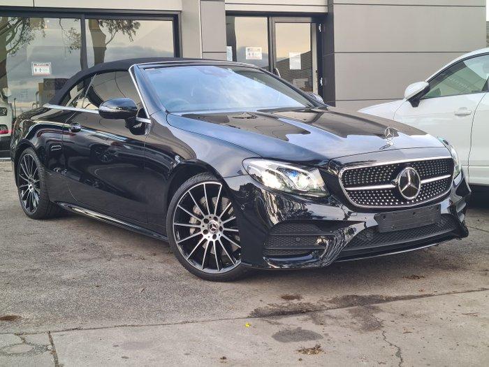 2019 Mercedes-Benz E-Class E300 A238 Obsidian Black