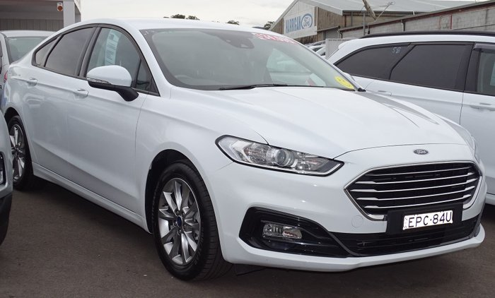 2019 Ford Mondeo Ambiente MD MY19.5 Frozen White
