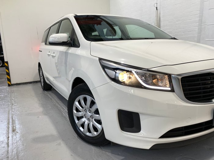 2017 Kia Carnival S YP MY18 Clear White