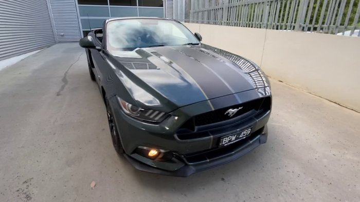 2016 Ford Mustang GT FM Green